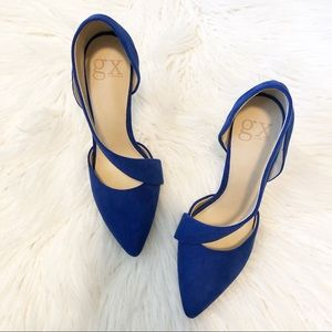GX by Gwen Stefani Royal Blue Rino heels